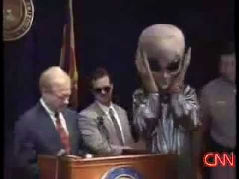 "Arizona Governor - Phoenix Lights UFO was ""Probably an Alien Spacecraft"""
