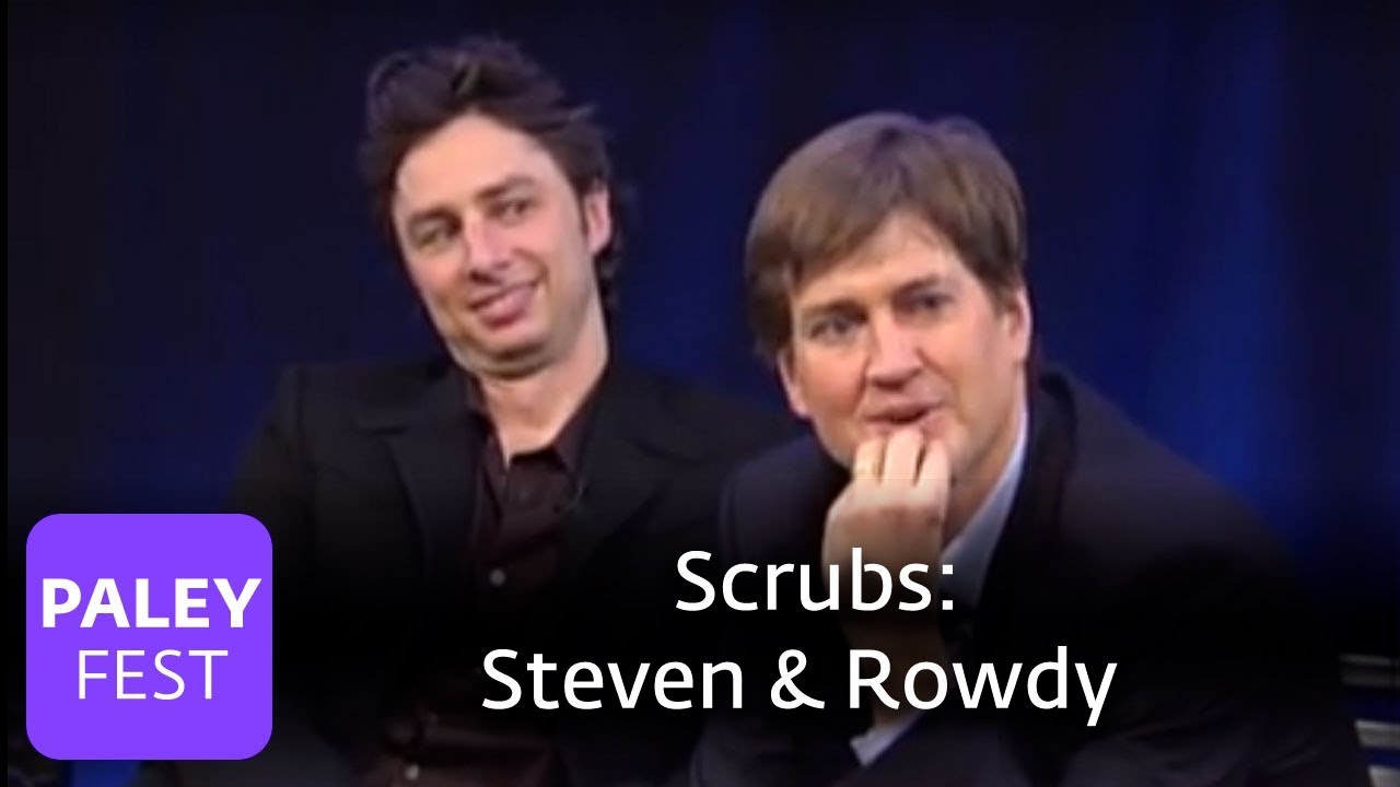 scrubs bill lawrence on steven rowdy paley center 2007 youtube