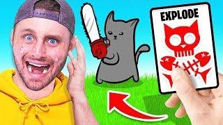 I GOT ATTACKED By a KITTEN! (Exploding Kittens)