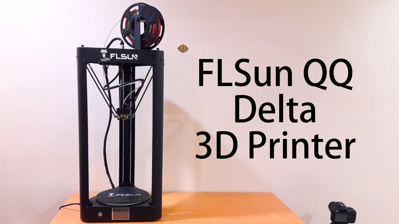 Flsun Qq Delta 3d Printer Unboxing And Assembly Youtube