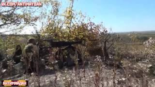 Прямое попадание по позициям нацгвардии Украины. Батальон
