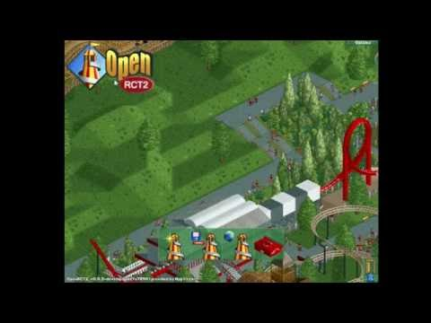 OpenRCT2: Starting Out And Log Flume! (1)