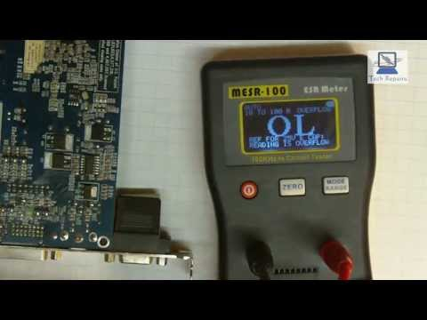Esr Meter MESR100 v2 Hands on look at a low priced Equivalent series resistance meter.