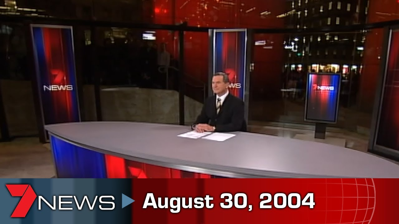 7NEWS: August 30, 2004 (Sydney) - First bulletin from Martin Place   Partial broadcast   7NEWS Vault