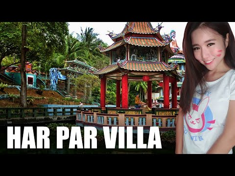 SINGAPORE: EXPLORING HAR PAR VILLA !?!?!?    | 5$ = TTS with Media