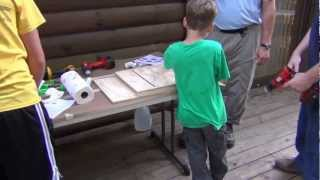 Bat House Kit Building At Cochran Mill Nature Center 2012