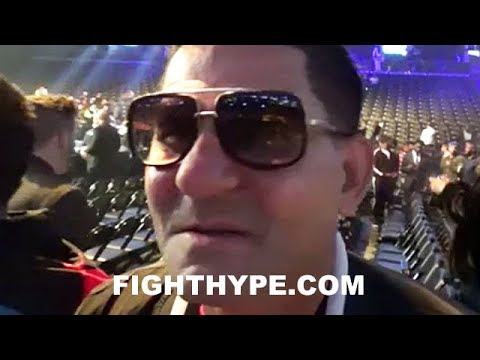 ANGEL GARCIA REACTS TO ADRIEN BRONER AND JESSIE VARGAS FIGHTING TO A DRAW: IT WAS UP FOR GRABS