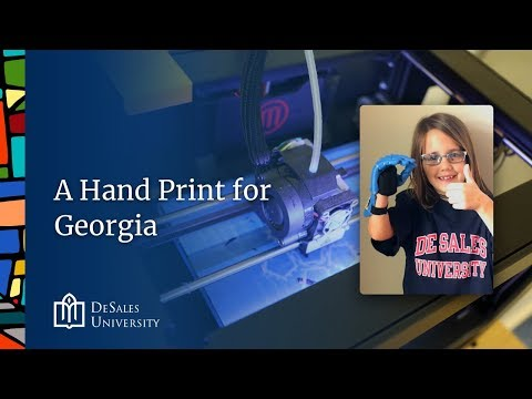 DeSales University - A Hand Print for Georgia
