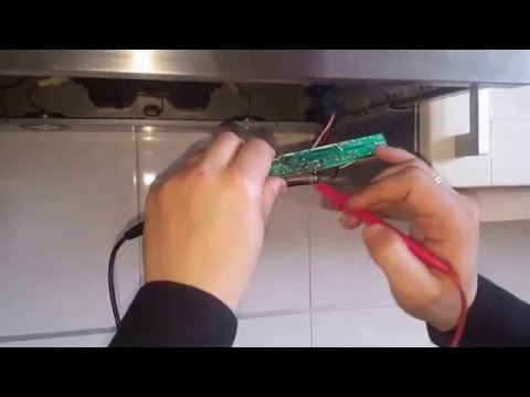 Campana extractora placa y ventilador extractor hood board and fan youtube - Como instalar una campana extractora ...