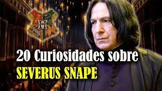 20 Curiosidades que posiblemente no sabías sobre Severus Snape