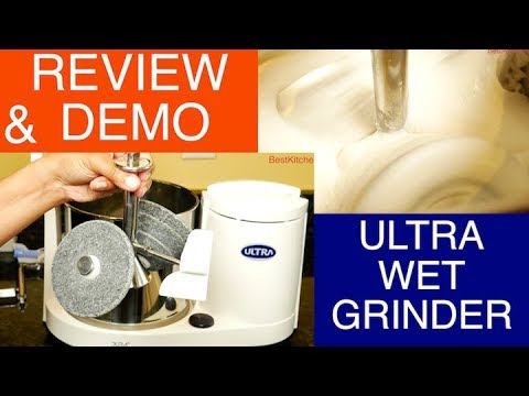 Ultra Dura Table Top Wet Grinder Review And Demo