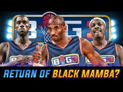 Kobe Bryant To Play In BIG3? Latest 3 On 3 Basketball HYPE!