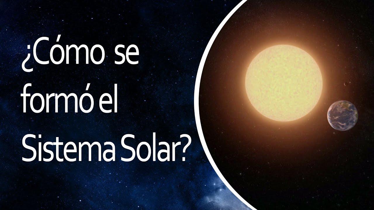 C mo se form el sistema solar el universo en 1 minuto for Como se cocinan los percebes
