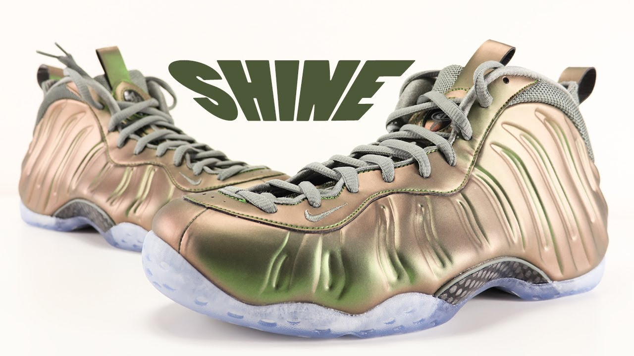low priced 87a5a bdbae NIKE AIR FOAMPOSITE ONE SHINE REVIEW. SneakerFiles.com