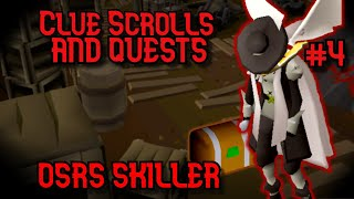 Easy Clue Caskets & Questing -- OSRS Skiller #4