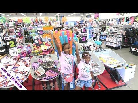 More Back to School Shopping 2019 ✏️🎒- Five Below, Staples, Dollar Tree haul  & Target