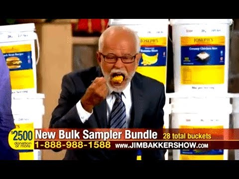 Jim Bakker: My Doomsday Food Business Is Actually A Co-op