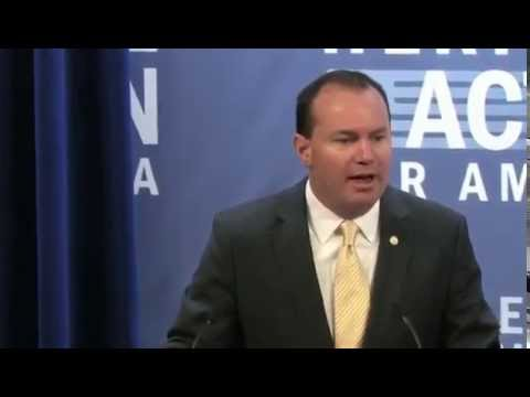 Conservative Policy Summit - Sen. Mike Lee, Education Panel
