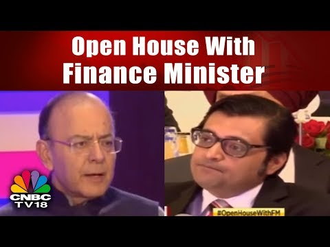 Open House With Finance Minister | Arun Jaitley Interacts With India Inc Post Budget | CNBC-TV18