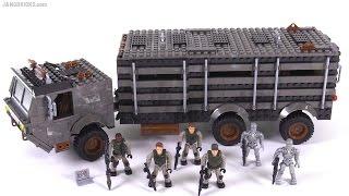 Mega Bloks Terminator Genisys Prisoner Transport Attack review!