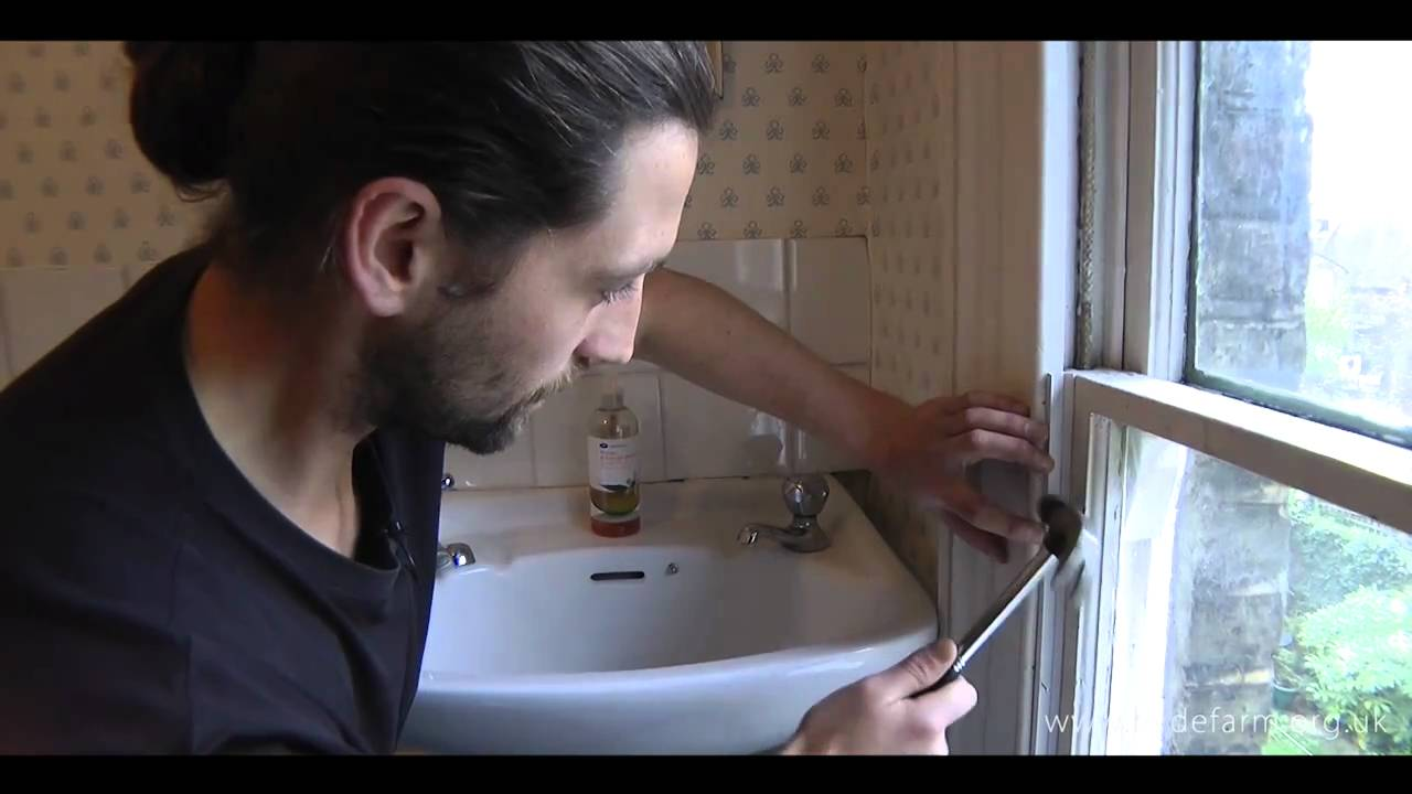 Part 2 Draught Proofing A Sash Window Youtube