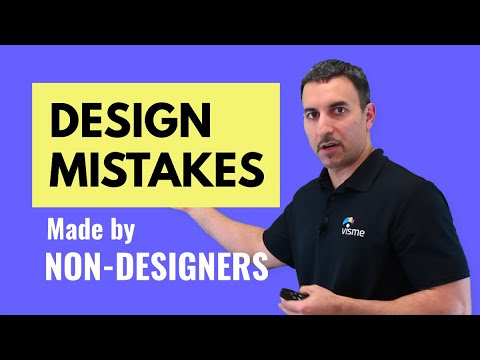 Learn the Most Common Design Mistakes by Non Designers