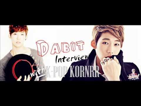 [INTERVIEW] Dabit (다빗) interview with K-POP KORNER