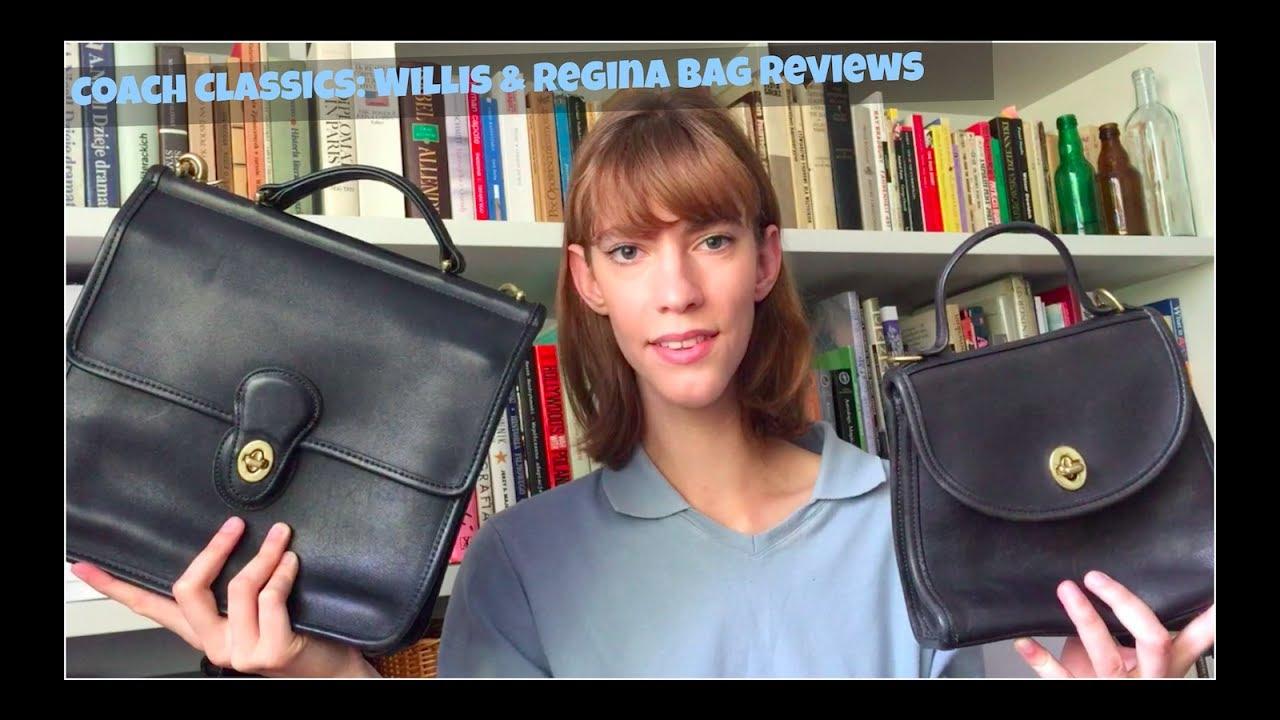 coach classics willis regina bag reviews youtube rh youtube com