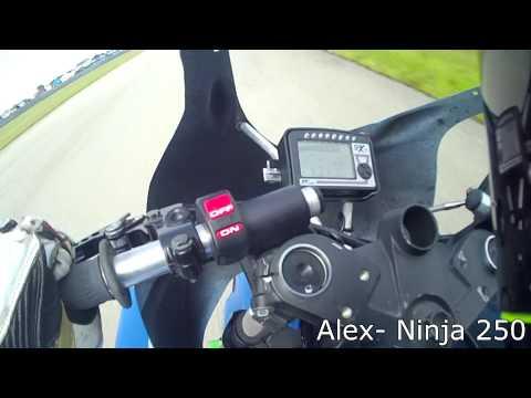 Z1000 vs Ninja 250 vs 675 with SportbikeTrackTime
