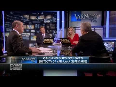 Judge Napolitano: Oakland Suing DOJ Over Marijuana Dispensaries - Fox Business 10/11/2012