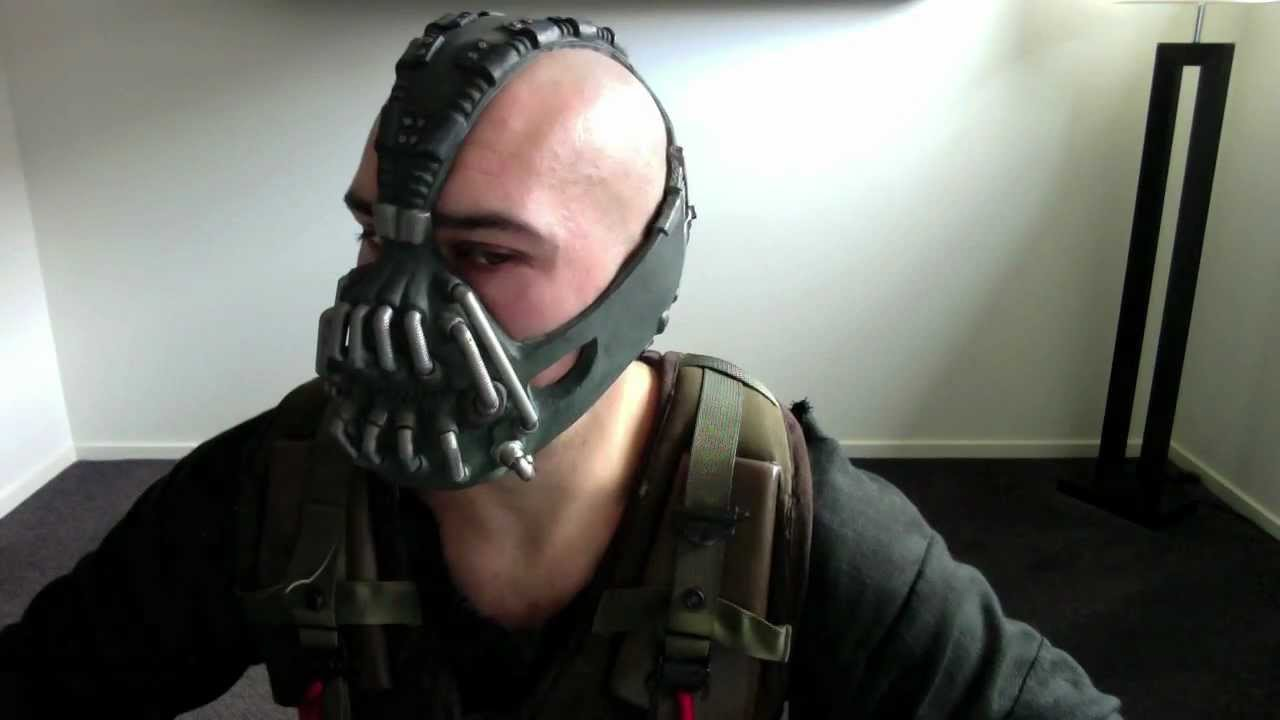 TDKR BANE Costume : high quality bane costume  - Germanpascual.Com