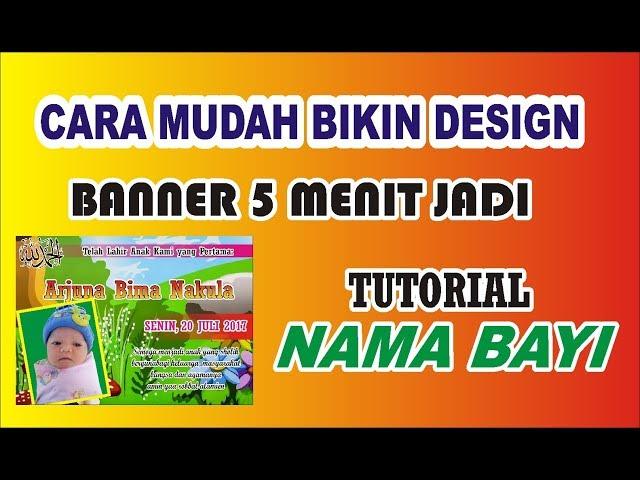 Keren Desain Banner Walimatul Khitan Cdr - Erlie Decor