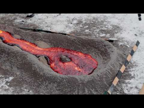 UB geologists make their own lava