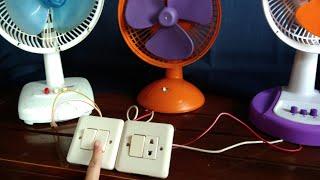 Kipas Angin saklar listrik - Quat Fan