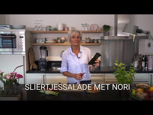 Sliertjessalade met nori