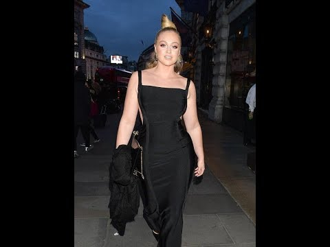Iskra Lawrence wows in black gown at Prince's Trust gala