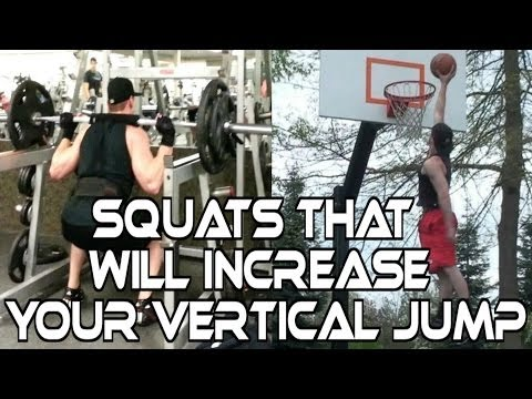 Vertical Jump Exercises: Squats To Jump Higher