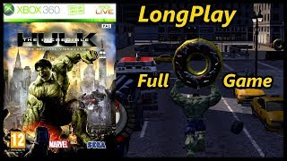 The Incredible Hulk - Longplay (Xbox 360) Full Game Walkthrough (No Commentary)