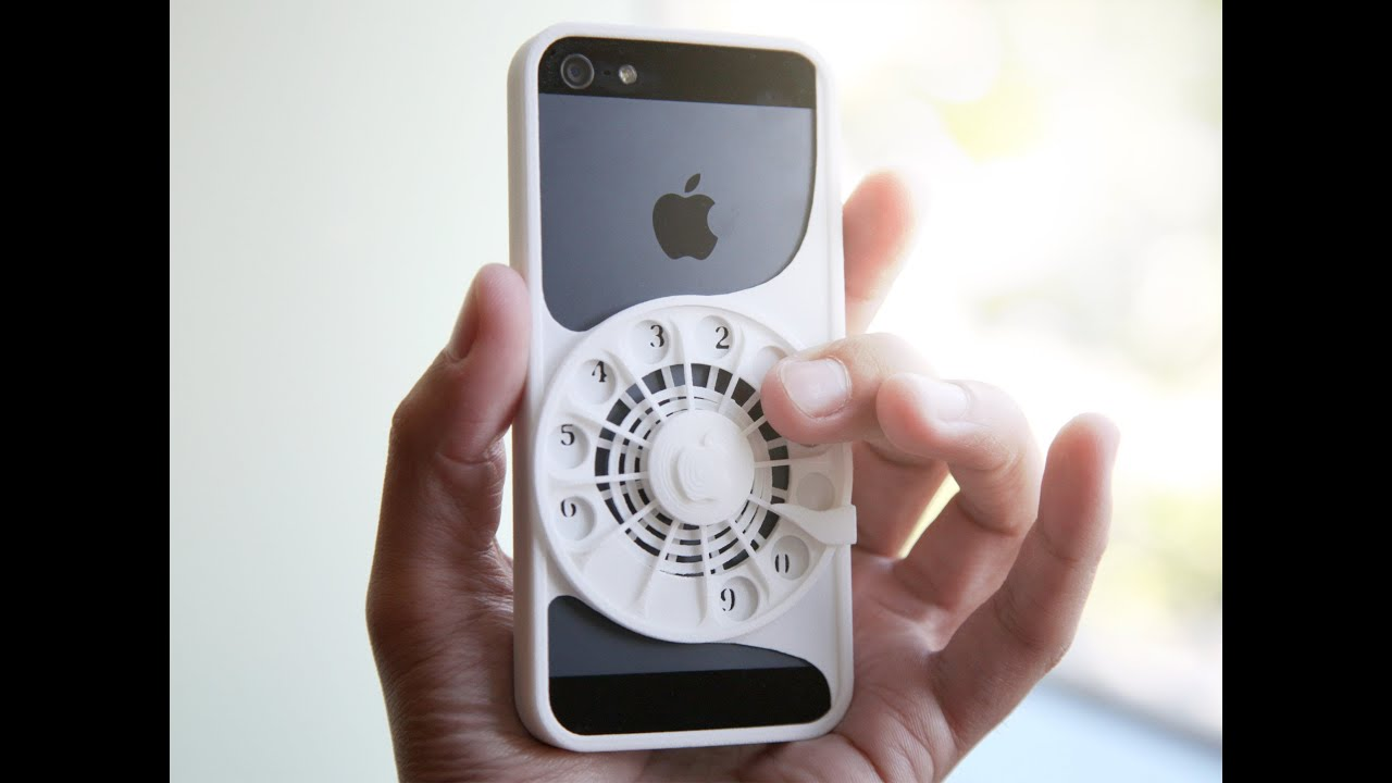 rotary phone case for iphone [ 1280 x 720 Pixel ]