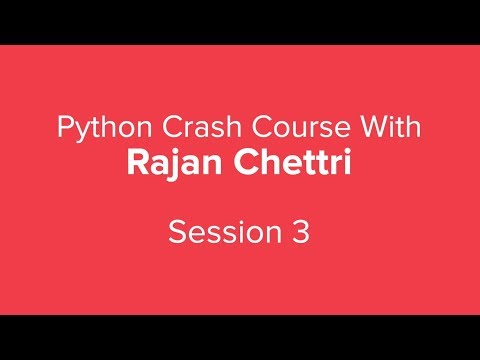 Python Crash Course Part 3 | Python Tutorial for Beginners with examples | upGrad thumbnail