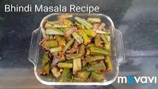 Bhindi Masala Recipe/Okra Masala/Simple, Quick and Easy Sabzi