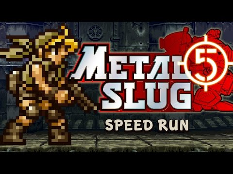 "METAL SLUG 5 - ""ALL SECRETS"" Speed RuN"