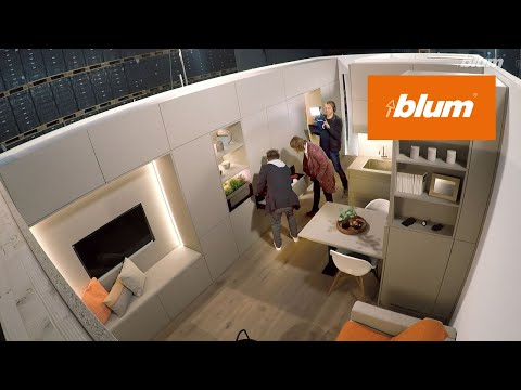 The experiment - Living in 22 square metres | Blum Inspirations