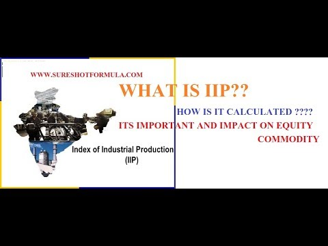 IIP (INDEX OF INDUSTRIAL PRODUCTION) :: ITS IMPORTANCE AND APPLICATION ON EQUITY/COMM