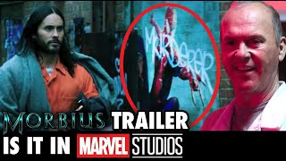 "Morbius Trailer: ""We're In The MCU!"" - But is it?!"