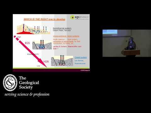 Unconventional Geothermal Energy (EGS) - Bryan Lovell Meeting 2019
