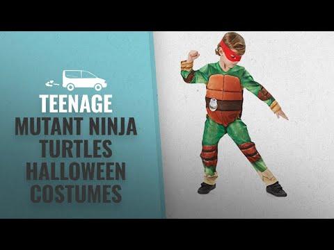 Top 10 Teenage Mutant Ninja Turtles Halloween Costumes [2018 Best Sellers]: Rubie's Official Teenage