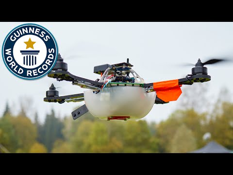 Drone Display Sets World Record For Most Uavs Airborne