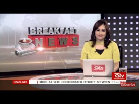 English News Bulletin – June 12, 2017 (8 am)