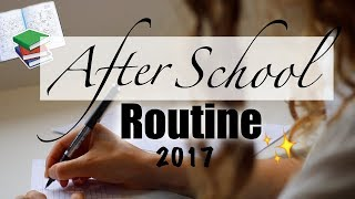 This video is my productive after school routine from the first day...